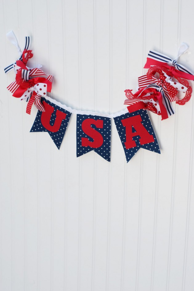 17 Creative Handmade 4th Of July Banners As Patriotic