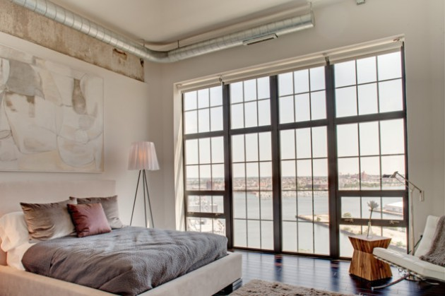 17 Top-Notch Industrial Bedroom Interiors Like You've Never Seen Before