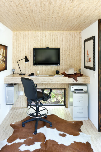 17 Functional Small Built In Work Table Design Ideas