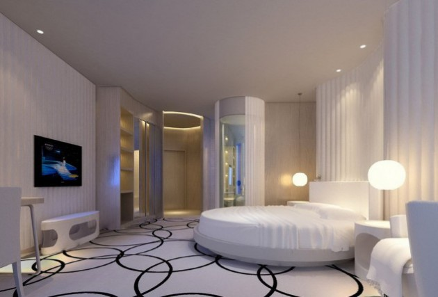 19 Luxury Round Master Bedroom Designs That Everyone Need To See