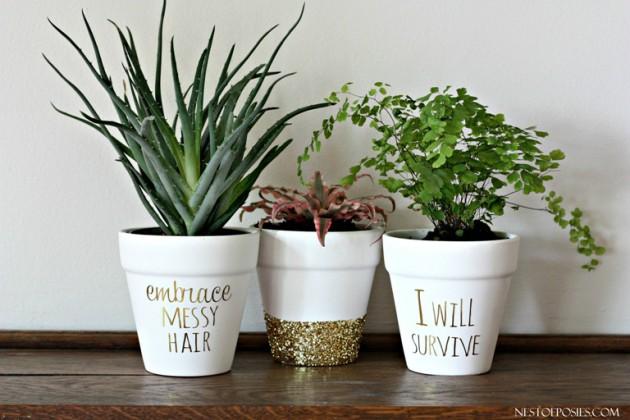 18 Simple Easy Diy Flower Pot Designs,Flower Easy Ganesh Rangoli Designs For Diwali