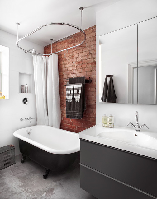 18 excellent industrial bathroom designs with great for Bathroom ideas industrial