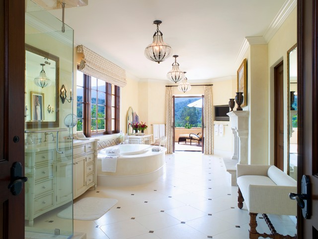 18 Exquisite Mediterranean Bathrooms That Will Show You What Perfection Is Like