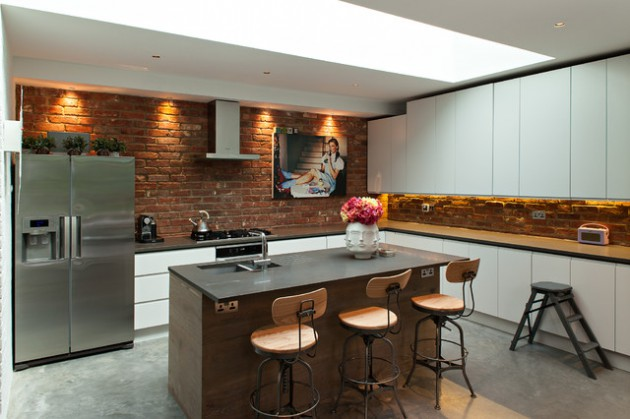 18 Impressive Industrial Kitchens With Stunning Interior Designs