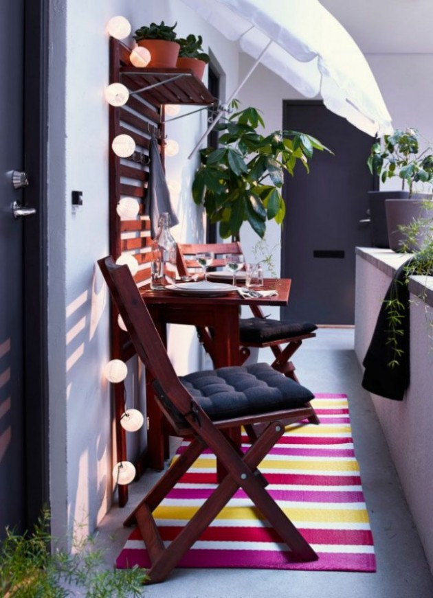 19 Small Balcony Designs Which Look Adorable and Inviting