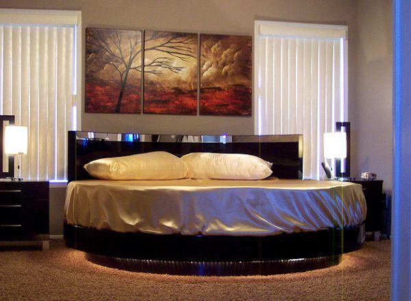 White Wood Bed Frame King
