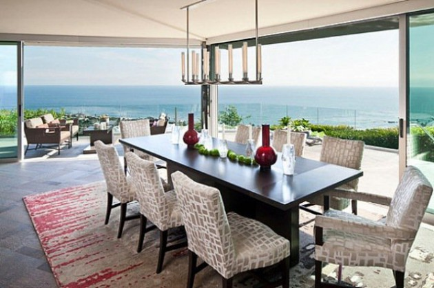 17 Classy Dining Room Designs With Dashing View