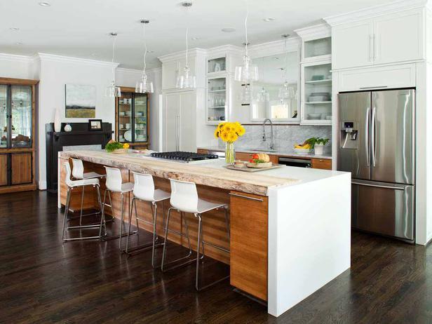 surprising kitchen islands bar design ideas | 19 Irresistible Kitchen Island Designs With Seating Area