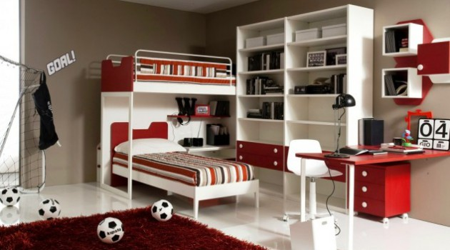 17 Cool Teen Bedroom Designs For Boys