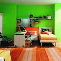18 Fresh Green Child's Room Design Ideas