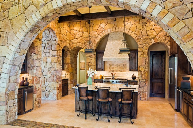 18 Outstanding Kitchen Design Ideas With Decorative Stone