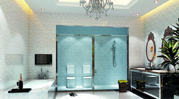17 Extravagant Bathroom Ceiling Designs That You'll Fall In Love With Them