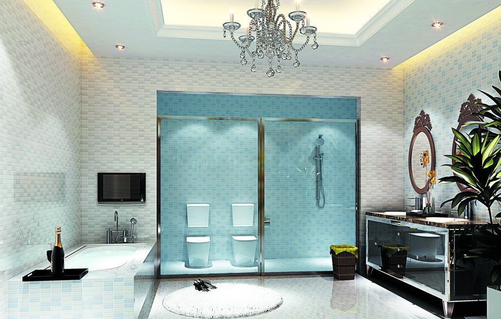 17 Extravagant Bathroom Ceiling Designs That You\'ll Fall In Love ...