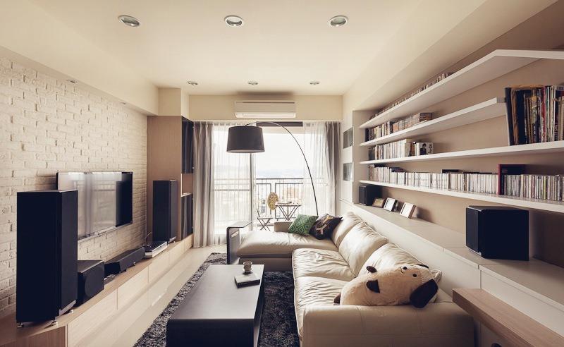 Гостиная прямоугольная узкая дизайн