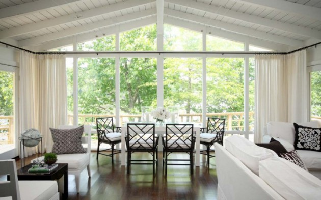 15 delightful interiors with floor to ceiling windows for Floor to ceiling windows