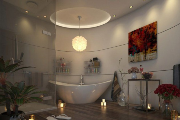 17 Extravagant Bathroom Ceiling Designs That Youll Fall In Love With Them