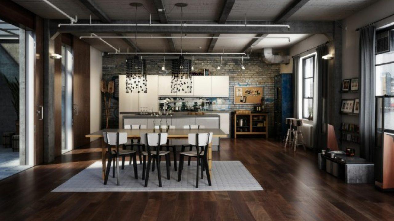15 Gorgeous Loft Design Ideas In Industrial Style