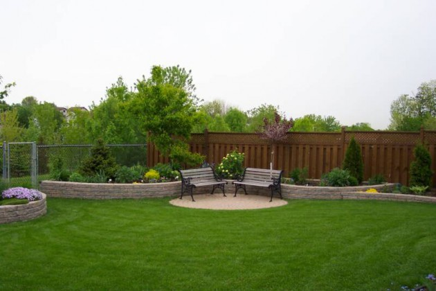 Simple Backyard Design simple backyard landscape design 16 Simple But Beautiful Backyard Landscaping Design Ideas