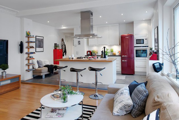 19 Classy Modern Scandinavian Kitchen Design Ideas