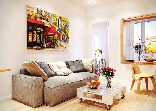 16 Functional Small Living Room Design Ideas