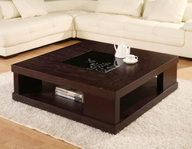 15 captivating modern coffee tables with storage for Sitting room table designs