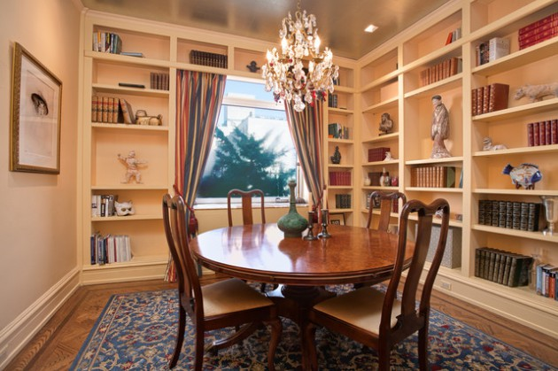 Double Duty DIning Room  Practical & Elegant Design Ideas