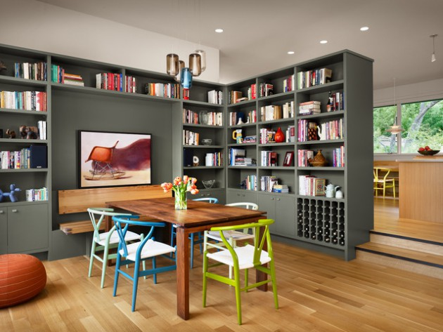 Double Duty DIning Room- Practical & Elegant Design Ideas