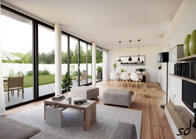 15 Delightful Interiors With Floor-To-Ceiling Windows