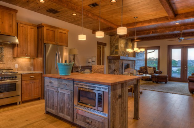 15 Charming Modern Rustic Kitchen Design Ideas