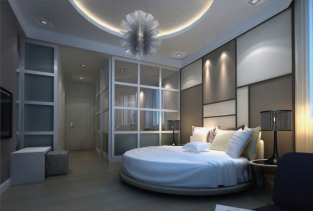19 Luxury Round Master Bedroom Designs That Everyone Need