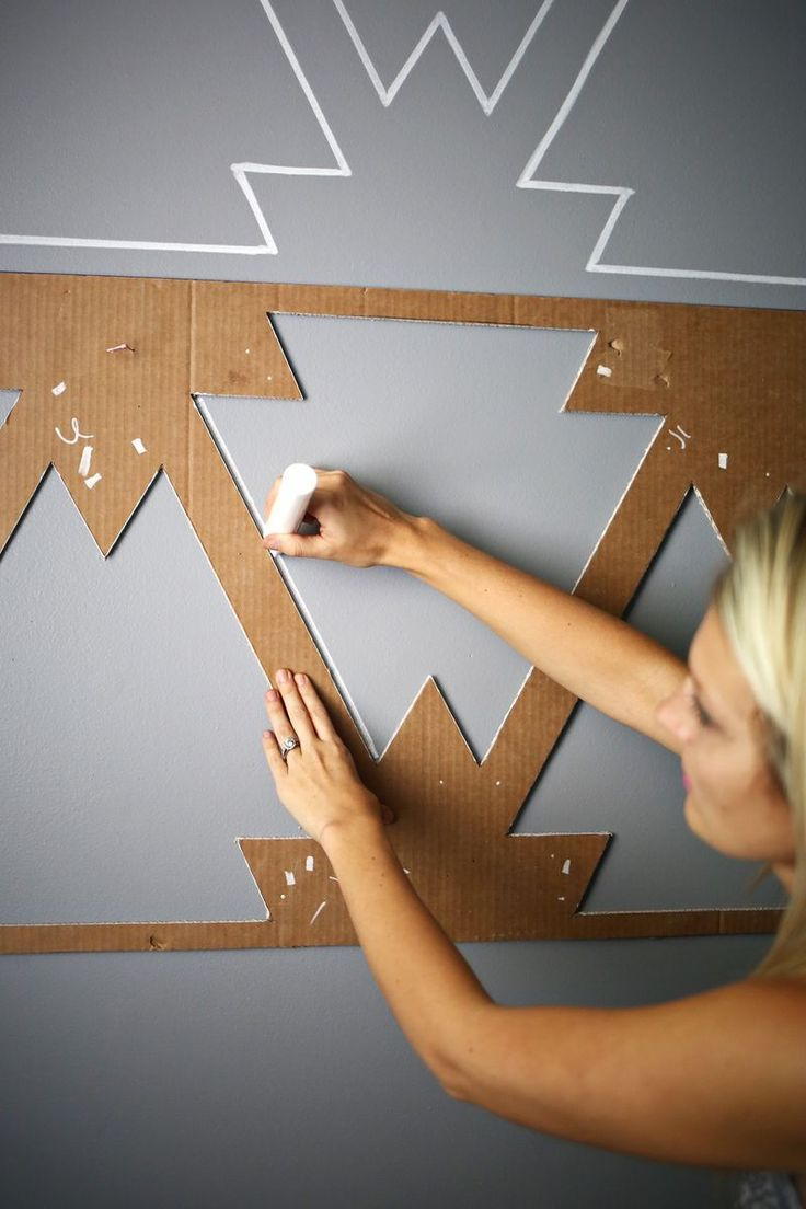 Как сделать необычные стены