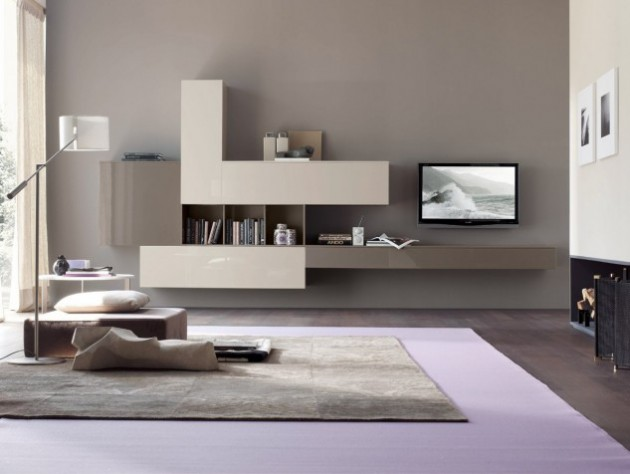 18 Trendy TV Wall Units For Your Modern Living Room