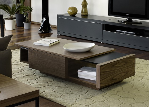 15 Captivating Modern Coffee Tables With Storage