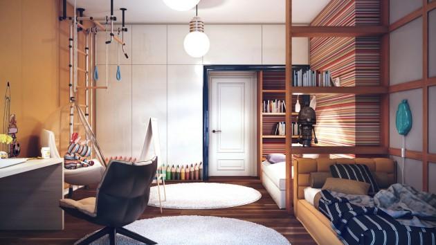15 Quality Designs Of Big Spacious Children's Rooms