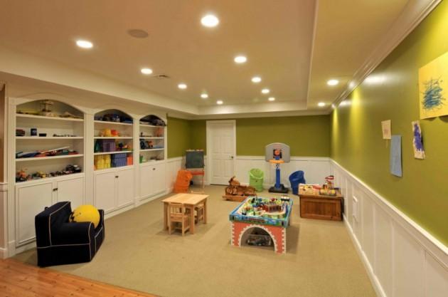 Transform Your Unused Basement Into Beautiful Playroom