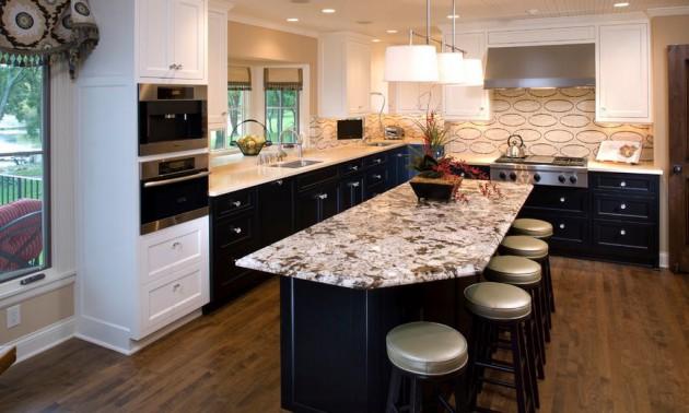 16 Wonderful Two-Toned Kitchen Cabinets