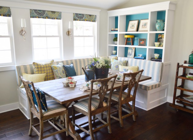16 Adorable Breakfast Nook Ideas For All Tastes