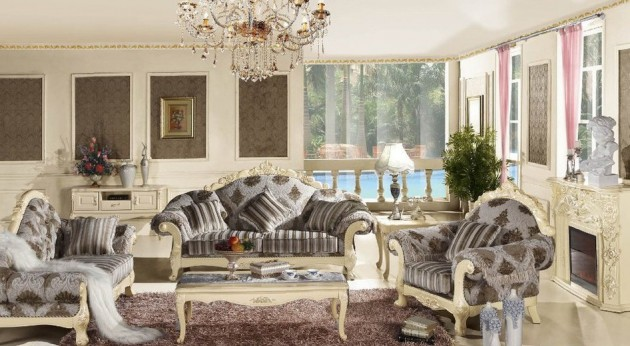 18 Impressive French Living Room Design Ideas