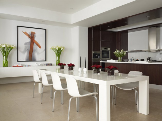 17 Simply Amazing Minimalist Dining Room Designs