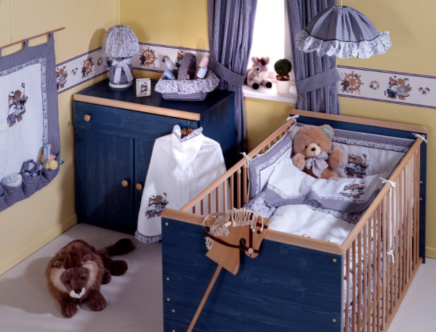 19 Adorable Baby Boy Nursery Design Ideas