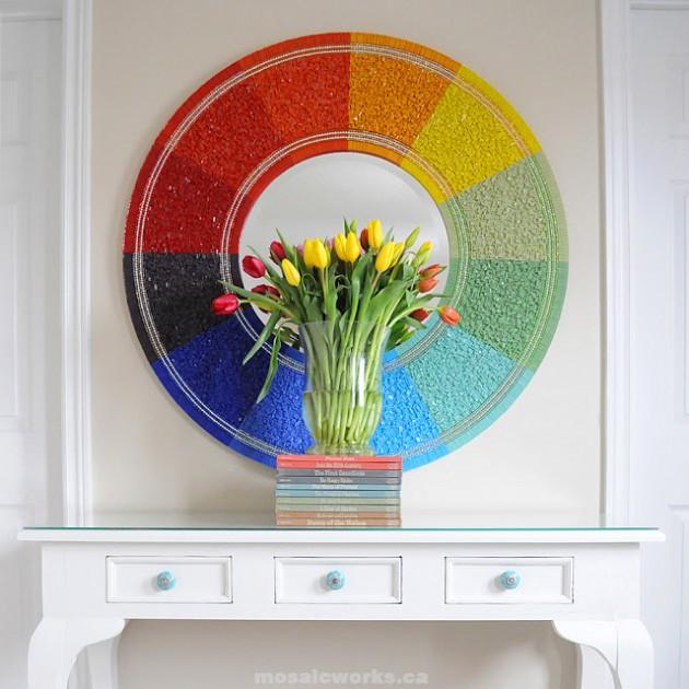 17 Impressive DIY Decorative Mirrors For Every Room