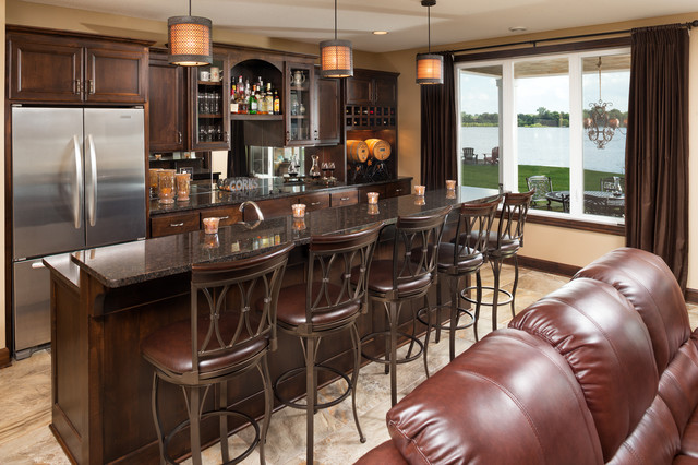 15 Astonishing Traditional Home Bars For Your Daily Inspiration