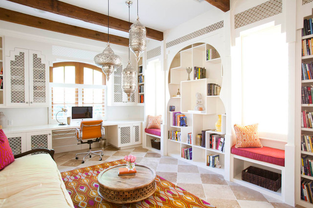 15 Refined Mediterranean Home Offices To Do Your Work In Style