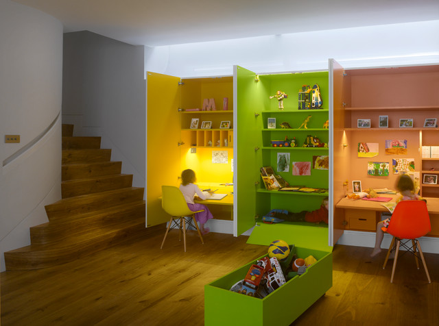 15 Stunning Contemporary Kids' Room Designs Your Kids' Would Love To Play In