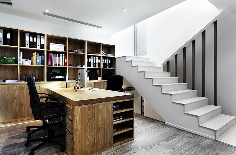 Basement Home Office Ideas Alluring Turn Your Unused Basement Into Productive Home Office Design Inspiration