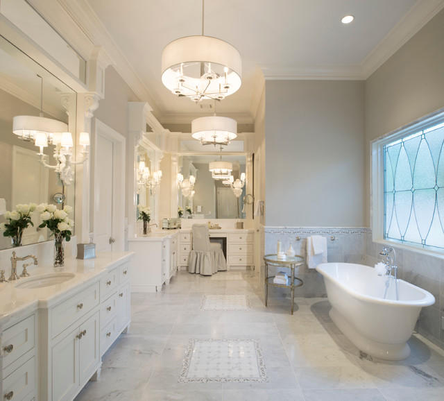 16 Representative Traditional Bathroom Designs Full Of
