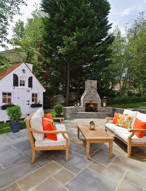 16 Sensational Traditional Patio Designs To Sparkle Up Your Garden