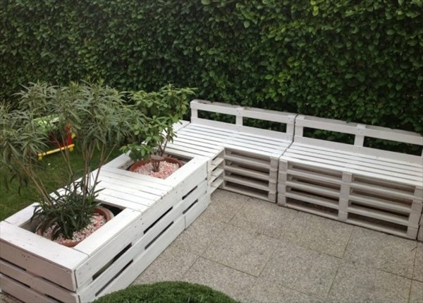 outside furniture made from pallets. 23 Super Smart Ideas To Transform Old Pallets Into Functional Outdoor Furniture Outside Made From O