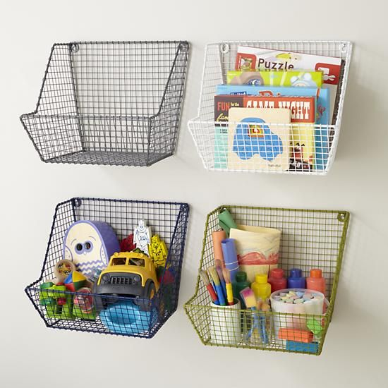 21 Functional Ideas For Child's Room Storage