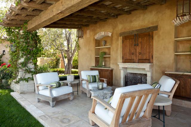 18 Charming Mediterranean Patio Designs To Make Your ... on Small Mediterranean Patio Ideas id=43122